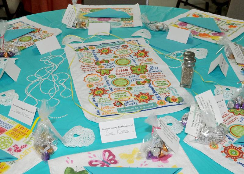 Building Memories Trinity Tea Party May 2015